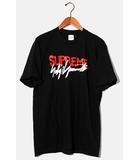 シュプリーム SUPREME 未使用品 2020AW SUPREME × Yohji Yamamoto シュプリーム ヨウジヤマモト Logo Tee ロゴTシャツ M BLACK ブラック 黒 /●
