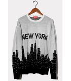 シュプリーム SUPREME 未使用品 2020SS Supreme シュプリーム New York Sweater ニューヨークセーター ニット Large White ホワイト /●