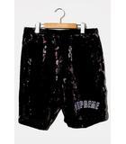 シュプリーム SUPREME 未使用品 2019AW Supreme シュプリーム Floral Velour Shorts フローラルベロアショーツ Medium BLACK ブラック /●