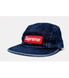 シュプリーム SUPREME 2018SS Supreme シュプリーム Denim Camp Cap デニム キャップ F BLUE ブルー /◆