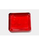 シュプリーム SUPREME 未使用品 2020SS SUPREME シュプリーム Debossed Glass Ashtray アッシュトレー 灰皿 Red 赤/●