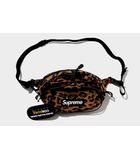 シュプリーム SUPREME 未使用品 2020AW SUPREME シュプリーム Waist Bag Leopard ボディ ウエストバッグ レオパード ポーチ/●
