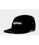 シュプリーム SUPREME 2018SS Supreme シュプリーム Box Logo Corduroy Camp Cap ボックスロゴ コーデュロイキャンプキャップ BLACK ブラック /◆