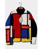 シュプリーム SUPREME 未使用品 2020AW Supreme シュプリーム Reversible Colorblocked Fleece Jacket リバーシブル カラーブロック フリースジャケット L RED 赤 /●