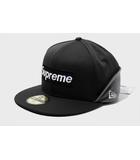 シュプリーム SUPREME 未使用品 2020AW SUPREME シュプリーム WINDSTOPPER Earflap Box Logo New Era ニューエラ ボックスロゴ キャップ 58.7cm Black 黒/●