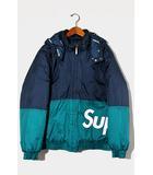 シュプリーム SUPREME Supreme シュプリーム Sideline Side Logo Parka サイドライン サイドロゴパーカー 中綿 ジャケット M NAVY ネイビー /●
