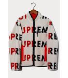 シュプリーム SUPREME 2018AW Supreme シュプリーム Reversible Logo Fleece Jacket リバーシブルロゴフリースジャケット M Natural ナチュラル /●