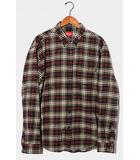 シュプリーム SUPREME 2020AW Supreme シュプリーム Tartan Flannel Shirt タータンフランネルシャツ L BLACK ブラック /●
