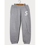 シュプリーム SUPREME 2020SS Supreme シュプリーム S Logo Sweatpant Sロゴ スウェットパンツ S Heather Grey グレー /●