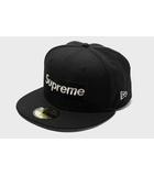 シュプリーム SUPREME 2020SS SUPREME シュプリーム $1M Metallic Box Logo New Era ニューエラ ベースボールキャップ 71/4 57.7cm Black 黒/●