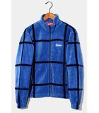 シュプリーム SUPREME 未使用品 2020SS SUPREME シュプリーム Grid Taping Velour Jacket ベロアジャケット S BLUE ブルー /●