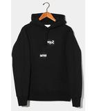 シュプリーム SUPREME 未使用品 2018AW SUPREME × COMME des GARCONS SHIRT シュプリーム コムデギャルソン シャツ Split Box Logo Hooded Sweatshirt ボックスロゴ フーデッドスウェットシャツ プルオーバーパーカー S BLACK ブラック /●