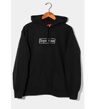 シュプリーム SUPREME 未使用品 2021SS SUPREME × KAWS シュプリーム カウズ Chalk Logo Hooded Sweatshirts ボックスロゴ フーデッドスウェットシャツ パーカー S BLACK ブラック /●