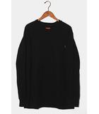 シュプリーム SUPREME Supreme シュプリーム L/S Pocket Tee 無地 長袖Tシャツ XL BLACK ブラック /◆