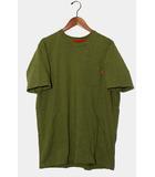 シュプリーム SUPREME Supreme シュプリーム S/S Pocket Tee 無地 半袖Tシャツ XL オリーブ /◆
