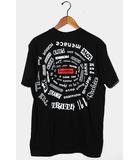 シュプリーム SUPREME 未使用品 2021SS Supreme シュプリーム Spiral Tee スパイラル Tシャツ M BLACK ブラック /●