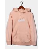 シュプリーム SUPREME 2016AW Supreme シュプリーム Box Logo Hooded Sweatshirt ボックスロゴ スウェットシャツ パーカー Medium Peach ピーチ /●