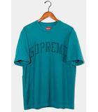 シュプリーム SUPREME 2019AW Supreme シュプリーム Chenille Arc Logo S/S Top アーチロゴ 半袖Tシャツ S Teal /●