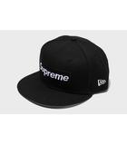 シュプリーム SUPREME 未使用品 2021SS SUPREME シュプリーム Champions Box Logo New Era ボックスロゴ ニューエラ キャップ 7 3/8 Black 黒/●