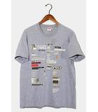シュプリーム SUPREME 2018AW SUPREME シュプリーム Cutouts Tee Tシャツ M Heather Grey グレー /◆