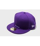 シュプリーム SUPREME 未使用品 2021SS SUPREME シュプリーム Reverse Box Logo New Era ニューエラ キャップ 60.6cm Purple/●