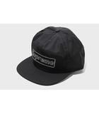 シュプリーム SUPREME 未使用品 2021SS SUPREME シュプリーム KAWS Chalk Logo 5-Panel カウズ Box Logo 5パネル キャップ Black 黒/●