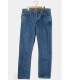 シュプリーム SUPREME Supreme シュプリーム Stone Washed Slim Jeans ストーンウォッシュスリムジーンズ デニムパンツ 32 INDIGO インディゴ /●