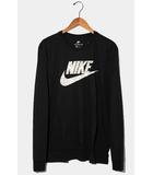 ナイキ NIKE 未使用品 NIKE ナイキ AS M NK PYTHON FUTURA LS TEE パイソン フーチュラ 長袖Tシャツ 2XL BLACK ブラック /◆