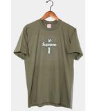 シュプリーム SUPREME 未使用品 2020AW Supreme シュプリーム Cross Box Logo Tee クロスボックスロゴ 半袖Tシャツ S Light Olive ライトオリーブ /●