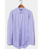 2018SS semoh × URBAN RESEARCH セモー アーバンリサーチ dobby stripe shirt 長袖 ドビーストライプシャツ 3 BLUE ブルー /◆