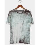 Martin Margiela 10 マルタンマルジェラ 錆 転写プリント 半袖Tシャツ 46 マルチカラー /◆
