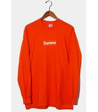 シュプリーム SUPREME 未使用品 2020AW Supreme シュプリーム Box Logo L/S Tee ボックスロゴ 長袖Tシャツ M ORANGE オレンジ /●