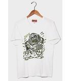WEIRDO ウィアード monster モンスター プリント Vネック 半袖Tシャツ カットソー S WHITE ホワイト/◆