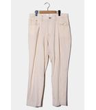 ウェルダー WELLDER 2020SS WELLDER ウェルダー Single Reversed & Five-Pockets Tapered Trousers テーパードトラウザーズ パンツ 4 WHITE 白 WM20SPT06 /●