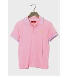 エヴィス EVISU YAMANE GUARANTEED by EVISU ヤマネギャランティード バイ エヴィス 鹿の子 ライン ポロシャツ 34 ピンク/◆☆