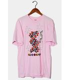 シュプリーム SUPREME Supreme シュプリーム DNA Tee プリント 半袖Tシャツ M PINK ピンク /◆