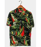シュプリーム SUPREME 2011SS Supreme シュプリーム Hawaiian Shirt ハワイアンシャツ ヨット柄 半袖シャツ S Green 緑 /●