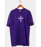シュプリーム SUPREME 未使用品 2020AW Supreme シュプリーム Cross Box Logo Tee クロスボックスロゴ 半袖Tシャツ L Purple 紫 /●