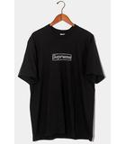 シュプリーム SUPREME 未使用品 2021SS Supreme × KAWS シュプリーム カウズ Chalk Box Logo Tee チョーク ボックスロゴ Tシャツ L BLACK 黒 /●