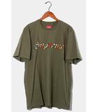 シュプリーム SUPREME 未使用品 2021SS Supreme シュプリーム Floral Applique S/S Top フローラルアップリケ 半袖Tシャツ XL Olive オリーブ /●