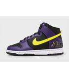 ナイキ NIKE 未使用品 NIKE ナイキ DUNK HI PRM EMB Lakers 'Court Purple' ダンク ハイ レイカーズ US9 27cm DH0642-001/●