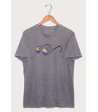 パタゴニア Patagonia Patagonia パタゴニア Fitz Roy Specs T-Shirt フィッツ ロイ スペックス クルーネック Tシャツ カットソー S GRAY グレー 51884/◆