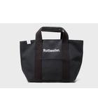 ロットワイラー ROTTWEILER 未使用品 2021SS ROTTWEILER ロットワイラー Canvas Tote Bag Small 4 号帆布 キャンバス トートバッグ BLACK 黒/●