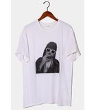 ザレターズ The Letters 2020SS The Letters ザレターズ KC DOT T-SHIRT ドットグラフィック 半袖Tシャツ L WHITE 白 /◆