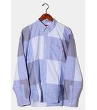 シュプリーム SUPREME 未使用品 2020AW Supreme シュプリーム Patchwork Oxford shirt パッチワークオックスフォードシャツ M BLUE 青 /●