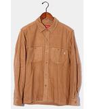 シュプリーム SUPREME Supreme シュプリーム Moleskin Field Shirt モールスキンフィールドシャツ S BEIGE ベージュ /●