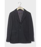 YAECA ヤエカ wool jacket ウール 2B テーラードジャケット S BLACK ブラック 14381/◆☆