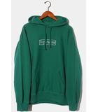 シュプリーム SUPREME 未使用品 2021SS SUPREME × KAWS シュプリーム カウズ Chalk Logo Hooded Sweatshirts ボックスロゴ フーデッドスウェットシャツ パーカー M Light Pine ライトパイン /●