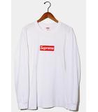 シュプリーム SUPREME 2020AW Supreme シュプリーム Box Logo L/S Tee ボックスロゴ 長袖Tシャツ M WHITE ホワイト /●