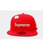 シュプリーム SUPREME 未使用品 2020SS Supreme シュプリーム $1M Metallic Box Logo New Era メタリック ボックスロゴ ニューエラ キャップ 7H 59.6cm RED 赤 /●